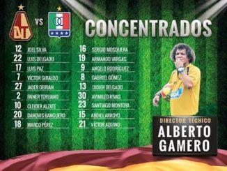 Imagen tomada cuenta oficial Club Deportes Tolima