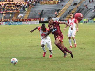 Omar Albornoz deportes tolima santa fe