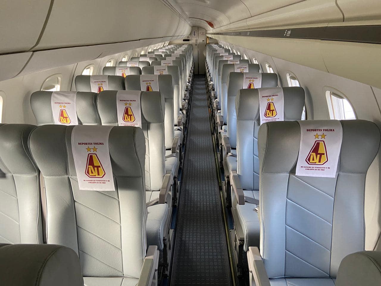 avion deportes tolima
