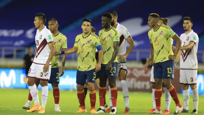 colombia venezuela gol caracol